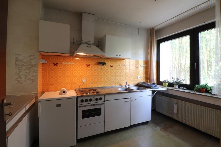 Natur pur und stadtnah - Küche im Erdgeschoss