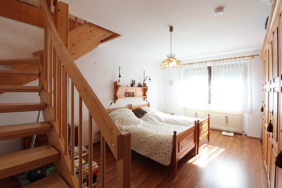 Nette Maisonette - Wohnen in Veitshöchheim - Schlafzimmer